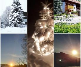 Ferienwohnung Wald und Wiese